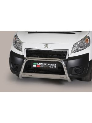 Pushbar | Peugeot Expert 2006-2015 | rvs zilver Medium Bar RVS CE-keur