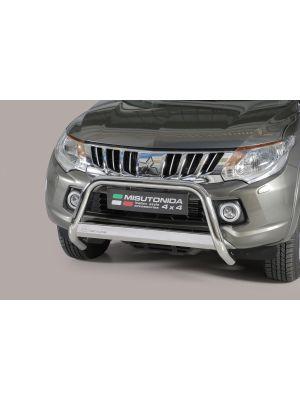 Pushbar | Mitsubishi | L200 15- 2d pic. / L200 15- 4d pic. | D.C. / C.C. | RVS CE-keur