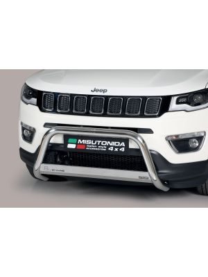 Pushbar | Jeep | Compass 17- 5d suv. | RVS CE-keur