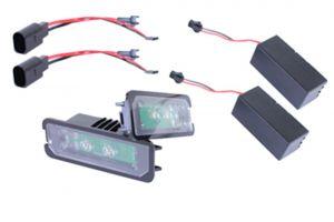 LED 10W Kentekenverlichting diverse Volkswagen | Skoda en Seat modellen | Golf 4 5 6 7 | Passat | Polo | Scirocco Leon