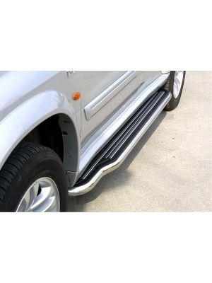 Side Bars | Suzuki | Grand Vitara XL-7 04-06 5d suv. | RVS