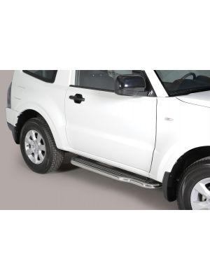 Side Bars | Mitsubishi | Pajero SWB 06-19 3d suv. | RVS