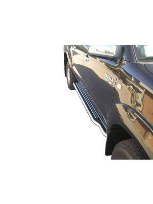 Side Bars | Toyota | Hilux D.C. 06-12 4d pic. / Hilux D.C. 12-16 4d pic. | RVS