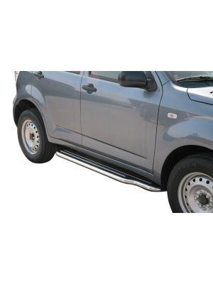 Side Bars | Daihatsu | Terios 10-12 5d suv. | Overfender versie | RVS