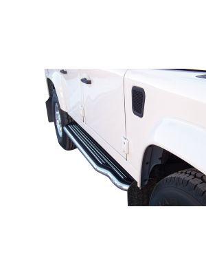 Side Bars | Land Rover | Defender 90 02-07 3d suv. / Defender 90 07-11 3d suv. / Defender 90 11-16 3d suv. / Defender 90 96-02 3d suv. | RVS