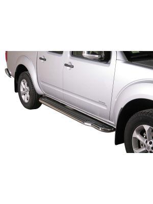 Side Bars   Nissan   Navara Double Cab 10-17 4d pic.   RVS