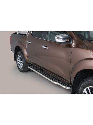 Side Bars   Nissan   Navara 16- 4d pic.   RVS