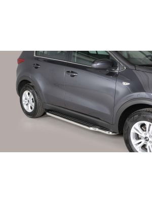 Side Bars | Kia | Sportage 16- 5d suv. | RVS