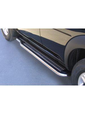 Side Bars | Land Rover | Freelander 1998-2007 | RVS rvs zilver Pedana