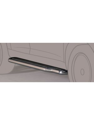 Side Bars | Toyota | Land Cruiser 02-10 3d suv. | KDJ 125 | RVS
