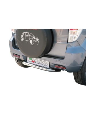 Rear Bar | Daihatsu | Terios 10-12 5d suv. | CX / SX / O.F. versie | RVS