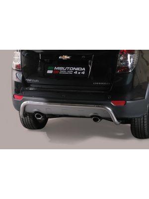 Rear Bar | Chevrolet | Captiva 11-14 5d suv. | RVS