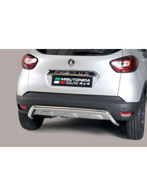 Rear Bar | Renault | Captur 17- 5d suv. | RVS