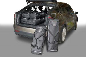 Tesla Model X 2015-heden Car-Bags reistassenset
