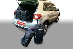 Reistassen set   Volkswagen Tiguan 2007-2015   hoge laadvloer  Car-Bags