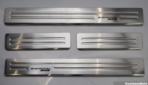 Instaplijsten | Volkswagen Sportsvan 2014- | 4-delig | RVS