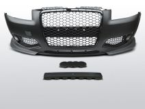 Voorbumper RS Style | Audi A3 8P 2003-2008 | inclusief mistlampen en honingraat grill
