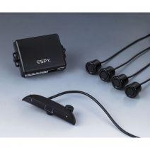 Parkeersensor achteruitrijsysteem met LED Display en geluidssignalering | 4 sensoren | Spy
