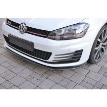 Rieger frontspoiler | Volkswagen | Golf VII 13-16 3d hat. / Golf VII 13-16 5d hat. | GTI / GTD | Carbon