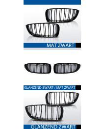 Grillen set | Nieren | BMW 4-Serie F32 F33 F36 | Performance M4 look | zwart