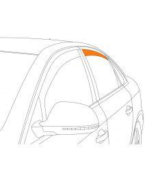 Zijwindschermen   Citroen C4 5 deurs 2010-   Climair   achterportieren   Smokegrey