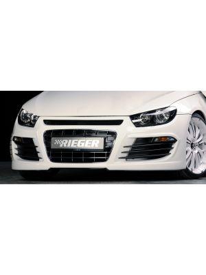Voorbumper   Volkswagen Scirocco 2008-2013   stuk ongespoten abs   Rieger Tuning