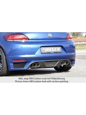 Achteraanzetstuk   Volkswagen Scirocco 2008-2013   stuk abs   Rieger Tuning