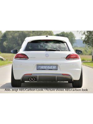 Diffuser   Volkswagen Scirocco (13) R-Line 2008-2017   stuk abs   Rieger Tuning