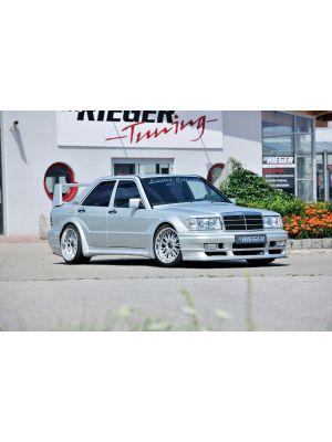 Spatbord | Mercedes 190-Serie 1982-1993 | stuk ongespoten gvk | Rieger Tuning