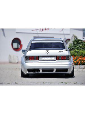 Rieger achterbumper | 190-Serie (W201) - Sedan | stuk ongespoten gvk | Rieger Tuning