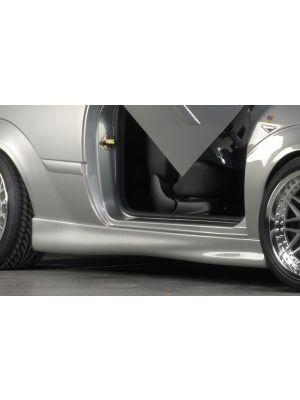 Side skirt | Ford Focus MK1 3-Deurs 1998-2004 | stuk ongespoten abs | Rieger Tuning