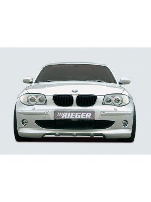 Rieger spoilerlip | 1er E87 (187 / 1K2/1K4): 09.04-03.07 (tot Facelift) - 4-drs. | stuk ongespoten abs | Rieger Tuning