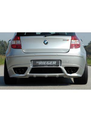 Rieger achteraanzetstuk | 1er E87: 09.04-08.09 (tot Facelift) Type: 187 - Lim., 4-drs. | stuk ongespoten abs | Rieger Tuning