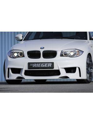 Voorbumper | BMW 1-Serie E81 / E82 / E87 / E88 2004-2011 | stuk ongespoten abs | Rieger Tuning