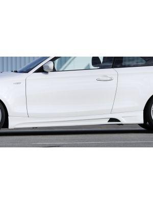 Side skirt | BMW 1-Serie E81 / E82 / E88 2007-2011 | stuk abs | Rieger Tuning