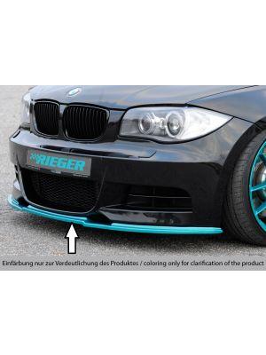 Spoilerzwaard | BMW 1-Serie Cabrio / Coupé E82/E88 2007-2011 | stuk abs | Rieger Tuning