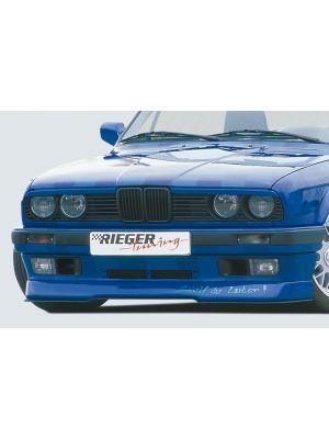 Rieger spoilerlip | 3er E30 - Coupé, Cabrio, Lim., Touring | stuk ongespoten abs | Rieger Tuning