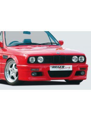 Rieger voorbumper M3 blik | 3er E30 - Coupé, Cabrio, Lim., Touring | stuk ongespoten abs | Rieger Tuning