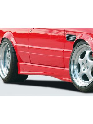 Side skirt | BMW 3-Serie Coupé / Cabrio E30 | stuk ongespoten abs | Rieger Tuning