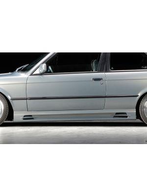 Side skirt | BMW 3-Serie Sedan / Touring / Coupé / Cabrio E30 | stuk ongespoten abs | Rieger Tuning