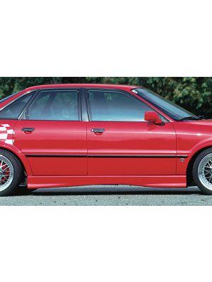 Side skirt | Audi 80 Sedan / Avant B4 1991-1994 | stuk ongespoten abs | Rieger Tuning