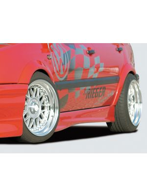 Rieger spatbordverbreder-Set | Golf 3: 08.91-09.97 - 3-drs., 5-drs., Cabrio | set ongespoten abs | Rieger Tuning
