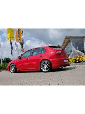 Side skirt | Seat Leon (1M) 1998-2006 / Toledo Sedan 1999-2004 | stuk ongespoten abs | Rieger Tuning