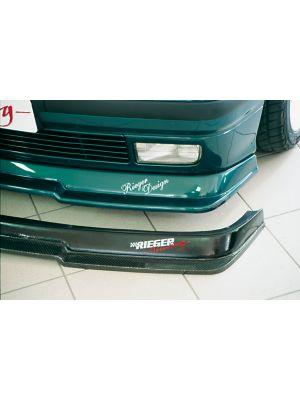 Frontspoiler | BMW 3-Serie Sedan / Touring / Compact / Cabrio / Coupé E36 | stuk abs | Rieger Tuning