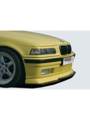 Rieger frontspoiler | 3er E36 - Cabrio, Compact, Coupé, Lim., Touring | stuk ongespoten abs | Rieger Tuning
