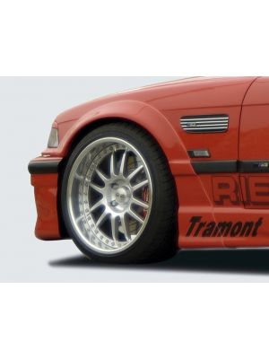 Spatbordverbreder | BMW 3-Serie Sedan / Coupé / Cabrio E36 1991-1999 | voor | stuk ongespoten gvk | Rieger Tuning