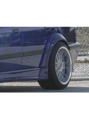 Spatbordverbreder | BMW 3-Serie Sedan E36 1991-1999 | achter | stuk ongespoten gvk | Rieger Tuning