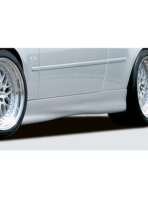 Side skirt | BMW 3-Serie Cabrio / Coupé E46 | stuk ongespoten abs | Rieger Tuning