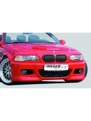 Voorbumper   BMW 3-Serie Cabrio / Coupé E46   stuk abs   Rieger Tuning