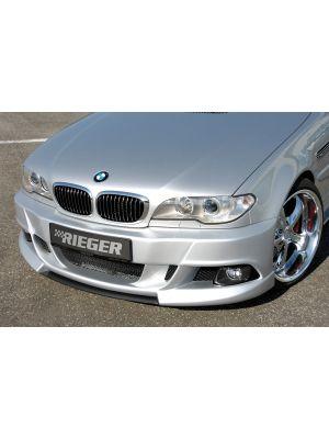 Rieger bumper E92-Look   3-Serie E46: 02.98-12.01 (tot Facelift), 02.02- (vanaf Facelift) - Cabrio, Coupé   stuk ongespoten abs   Rieger Tuning